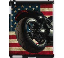 Modern Harley Davidson Fatboy USA iPad Case/Skin