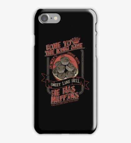 Crowley's Muffins 2 iPhone Case/Skin