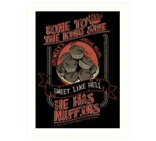 Crowley's Muffins 2 Art Print