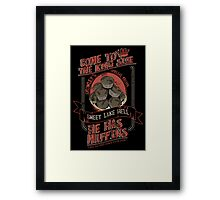 Crowley's Muffins 2 Framed Print