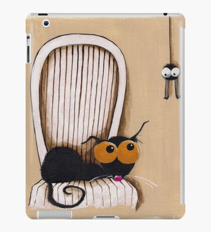 Oh no... Not you again iPad Case/Skin