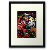 entropy at the end of time Framed Print