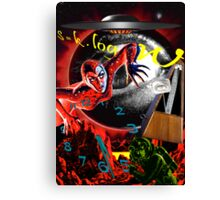 entropy at the end of time Canvas Print