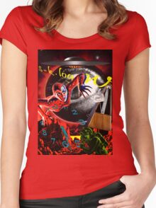 entropy at the end of time Women's Fitted Scoop T-Shirt