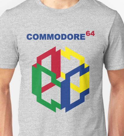 Commodore 64 Nintendo Mashup Unisex T-Shirt