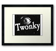 Eye Twonky Framed Print
