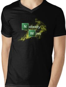 Nobody Wins Mens V-Neck T-Shirt