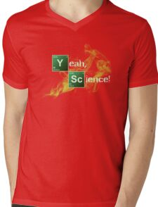 Yeah, Science! Mens V-Neck T-Shirt