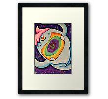 Trippin Yeti Framed Print