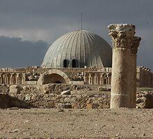 Amman Citadel in Jordan by Ren Provo
