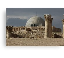 Amman Citadel in Jordan Canvas Print