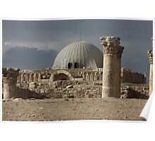 Amman Citadel in Jordan Poster