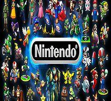 Retro Nintendo Characters iphone Case by miztayk