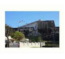 La Fortaleza in San Juan Puerto Rico Art Print