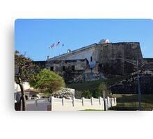 La Fortaleza in San Juan Puerto Rico Canvas Print