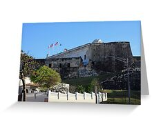 La Fortaleza in San Juan Puerto Rico Greeting Card