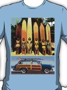 Cool Babes & Hot Rod T-Shirt