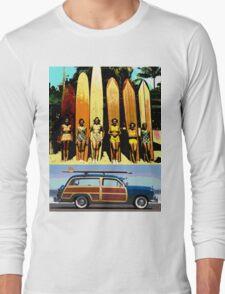 Cool Babes & Hot Rod Long Sleeve T-Shirt