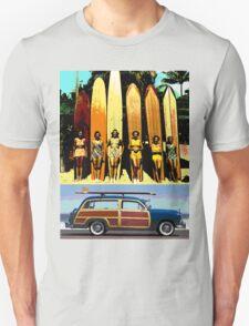Cool Babes & Hot Rod Unisex T-Shirt