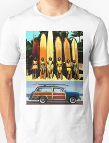 Cool Babes & Hot Rod T-Shirt