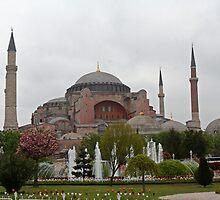 Hagia Sophia Istanbul Turkey by Ren Provo