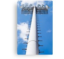 Vertical Stadium Floodlight Tower Canvas Print