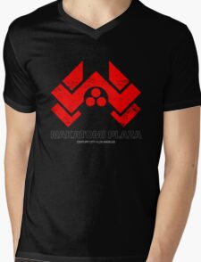 Nakatomi Plaza Mens V-Neck T-Shirt