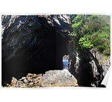 Cave on Beara Peninsula Poster