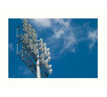 Stadium Floodlights Art Print
