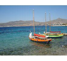 Aegina , Greece Photographic Print