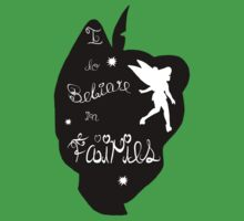Peter Pan Silhouette Kids Tee