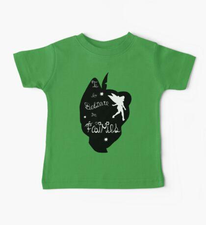 Peter Pan Silhouette Baby Tee
