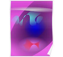 Purple Aquarium Poster