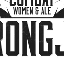 Strongjaw - Critical Role - Premium Design Sticker