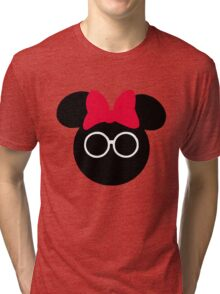 The Spectacle that is Minnie Mouse Tri-blend T-Shirt
