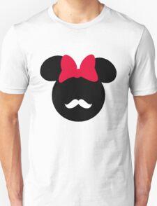 Minnie Mouse-tache  Unisex T-Shirt