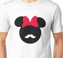 Minnie Mouse-tache  Unisex T-Shirt