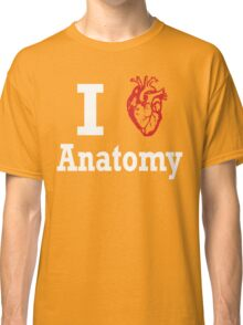 I heart anatomy white Classic T-Shirt