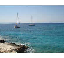 Moni Island, Greece  Photographic Print