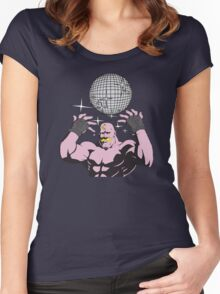 fullmetal alchemist Armstrong Disco Women's Fitted Scoop T-Shirt