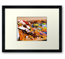 Mess of Color Framed Print