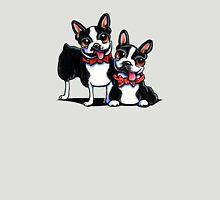 Merry Gentlemen | Boston Terriers Unisex T-Shirt