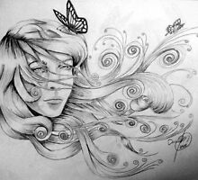 Beauty and the Butterflies 2 by tybetta87