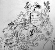 Beauty and the Butterflies 5 by tybetta87