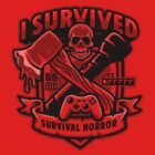 Survival Horror Crest by Brandon Wilhelm