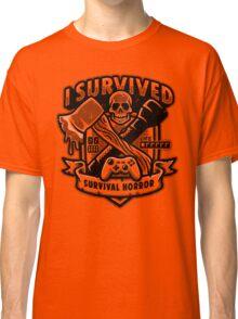 Survival Horror Crest Classic T-Shirt