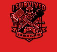 Survival Horror Crest Unisex T-Shirt