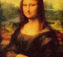 8 Bit Mona Lisa by TonyAbe