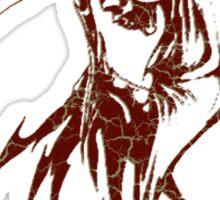 Tribal Grim Reaper Sticker