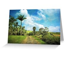 Dreaming of Hilo Greeting Card
